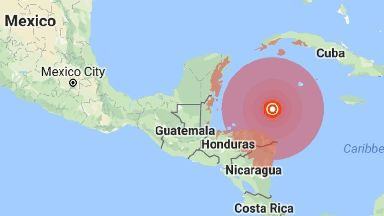 The US Geological Survey measured the quake at a preliminary magnitude of 7.6.
