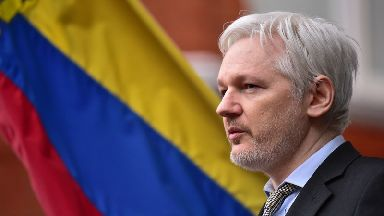 The WikiLeaks founder has been living in the London embassy of the south American country for five-and-a-half years.