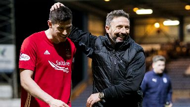 Scott McKenna and Derek McInnes