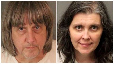 Police held Louise Anna Turpin, 49 and her husband David Allen Turpin, 57.