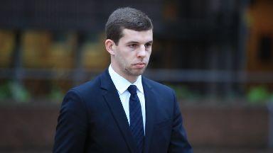 Liverpool FC player Jon Flanagan leaving at Liverpool Magistrates' Court