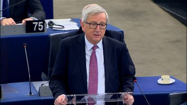 Juncker said Britain would be welcome back to the EU after Brexit.
