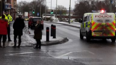 Camelon: Suspicious package found. Camelon Police Station Falkirk