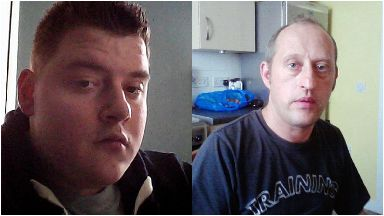 Death: Anthony McKellar, left, killed Andrew Salina. Roystonhill