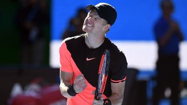 Kyle Edmund has reached the Australian Open semi-final.