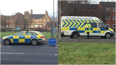 Springburn: Pronounced dead at scene. Keppochill Road Glasgow