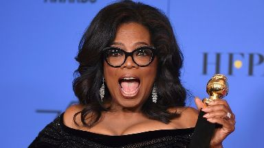 Oprah Winfrey claims she's 'not interested' in being president.
