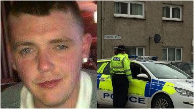 James Murray: Pronounced dead at scene. Holyrood Street Hamilton