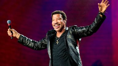 Lionel Richie: Only Scottish date on UK tour.