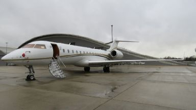Five men arrested after £50 million of cocaine seized from private jet
