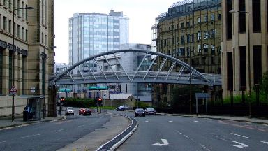 West Approach Road in Edinburgh