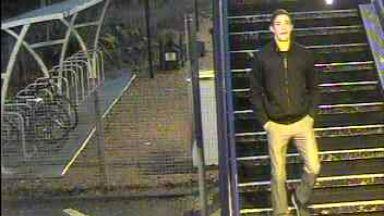 CCTV appeal after assault at Uddingston station. December 20 2017.