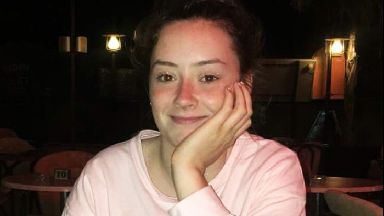 Aimee Sweeney from Motherwell, who died in Cyprus in January 2018. Family handout