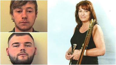 John Gribben, Logan Knox, Joan Price. Racers killed Ayr woman.
