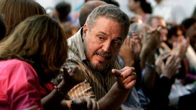 Fidel Castro Diaz-Balart bore a strong resemblance to his revolutionary father.