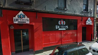 De Vito's: Man suffered loss of vision. Arbroath