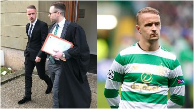 Leigh Griffiths: Appeared in court. Dundee Kingsway