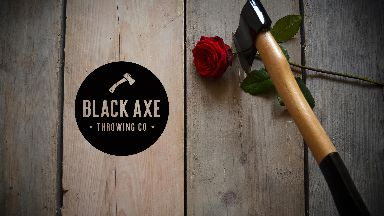 The Black Axe Throwing Company host pop up event in Edinburgh for Valentine's Day