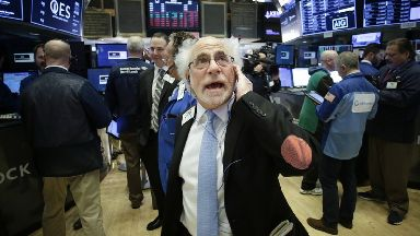 The up-and-down swings followed a drop of 10% from the latest record highs set by major US indexes just two weeks ago.