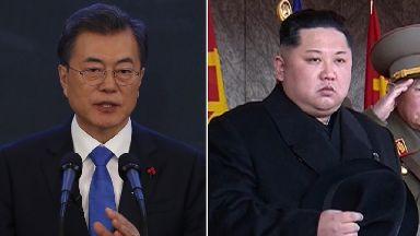 Moon jae-in has been invited to Pyongyang by Kim Jong-un.