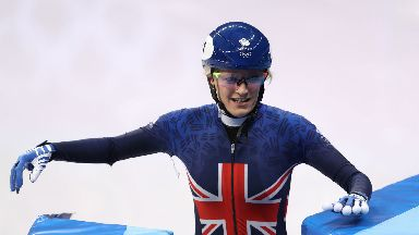 Elise Christie progresses, Winter Olympics 2018