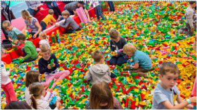 BrickLive Lego event