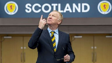 Alex McLeish, Feb 2018