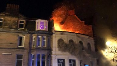 Stirling fire on 16/02/18