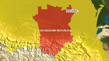 Kizlyar lies in in the North Caucasus region on the border with Chechnya.