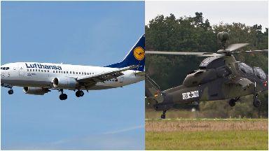 Lufthansa: Pilot's radio stopped working. Aberdeen Frankfurt