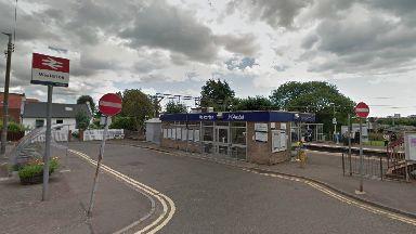 Westerton station in Bearsden