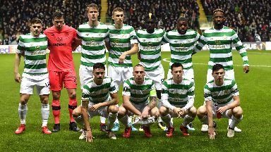 Celtic won 1-0 at Parkhead to earn a narrow lead in the tie.
