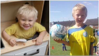 Casper (left) and his brother Corey Platt-May were killed on Thursday.