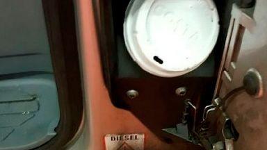 Inspectors found this makeshift fuel cap.