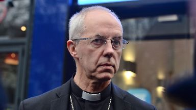 Justin Welby said Brexit and austerity are dividing Britain.