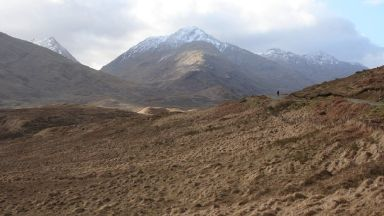 Sgurr Thuilm: The body was found on Saturday.