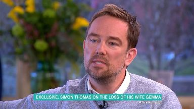 Holly Willoughby and Phillip Schofield left in tears on This Morning as Simon Thomas recalls death of wife Gemma