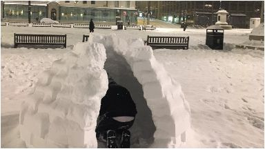 Igloo in George Square