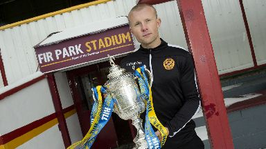 Ambition: Main wants trips to Hampden.
