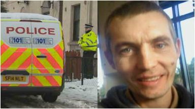 John Lynch: Pronounced dead at the scene. Dalkeith