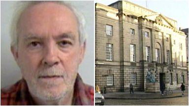 Gordon Knott, peadophile jailed at the High Court in Edinburgh.