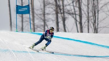 Millie Knight: She took silver in visually impaired downhill skiing.