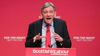 Richard Leonard Scottish Labour conference March 2018