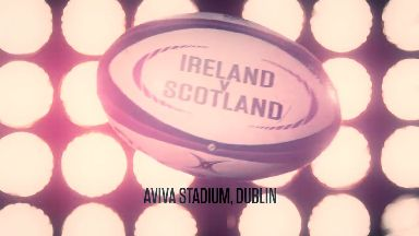 Ireland v Scotland graphic