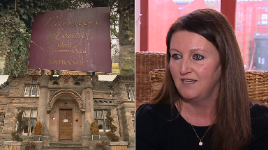 Composite Mansion House Hotel, woman who had woman cancelled Andrina Roy.