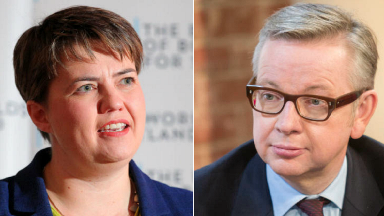 Joint statement: Davidson and Gove say control over fishing waters 'vital'.