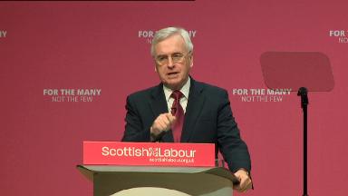 John McDonnell Scottish Labour conference 2018.