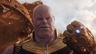 Avengers: Infinity War, Thanos.
