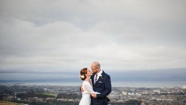 Bronwyn Jones and Christian Southward married on Arthurs Seat 2016