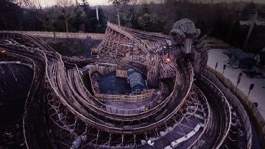 Wicker Man is Alton Towers' first ever wooden roller coaster